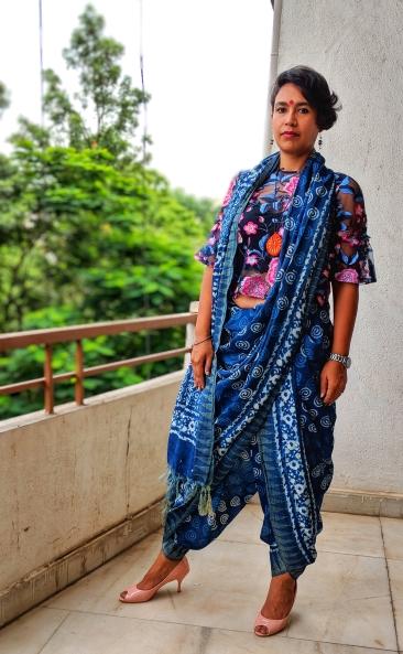 Dhoti drape. Photo: Baishampayan Ghose