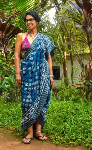Venuka Gundaram drape. Photo: Manuel Scortichini